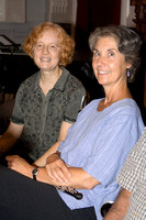Pam with Veronica Kenney, oboist
